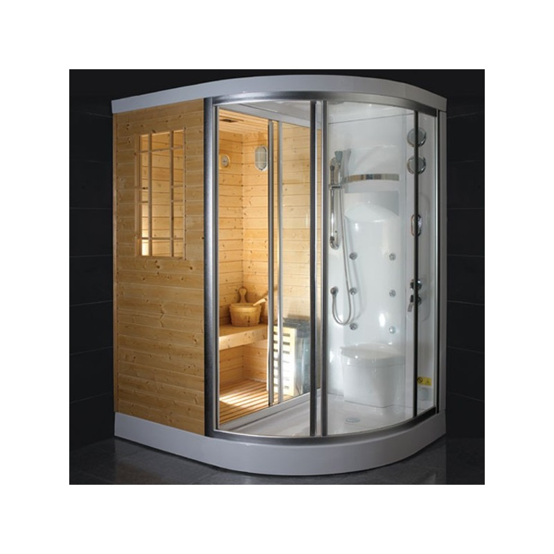 cabine douche hammam sauna himalaya g f820. Black Bedroom Furniture Sets. Home Design Ideas