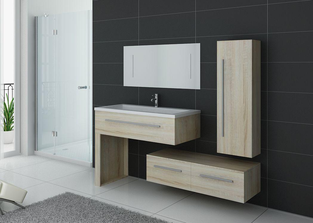 meuble de salle de bain scandinave 1 vasque meuble style scandinave dis9251sc. Black Bedroom Furniture Sets. Home Design Ideas