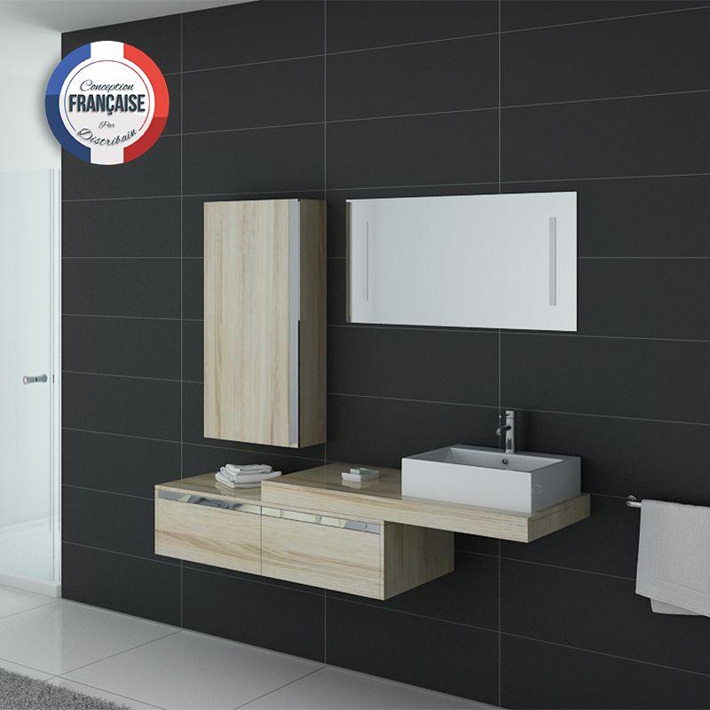 Meuble salle de bain ref dis9550sc for Salle bain online