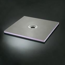 Installez une douche italienne facilement avec Aqua C90 x 90