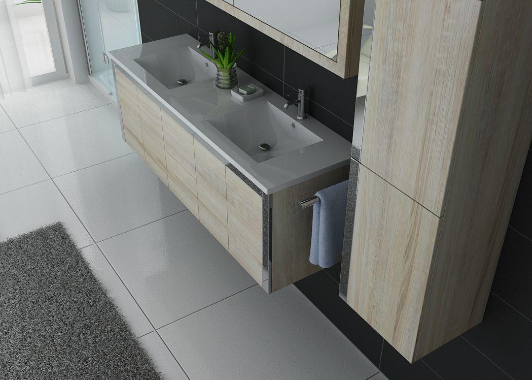 meuble salle de bain ref dis025 1500sc. Black Bedroom Furniture Sets. Home Design Ideas