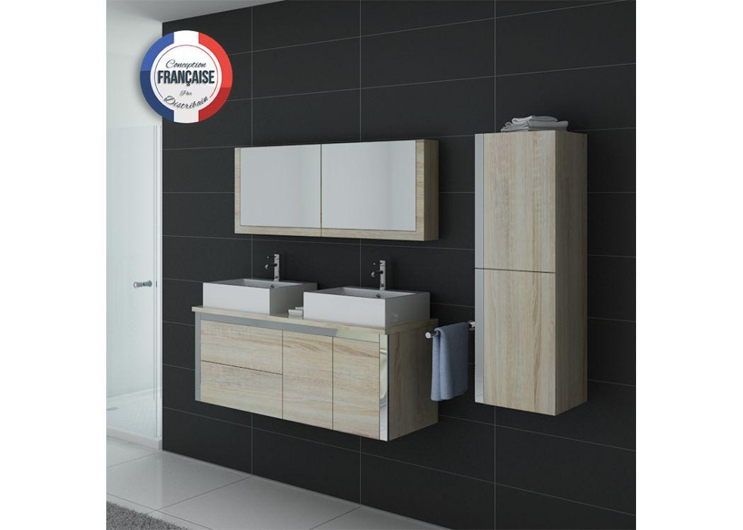 Meuble salle de bain ref dis026 1300sc Meuble salle de bain scandinave