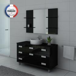 Meubles salle de bain IMPERIAL Noir laqué