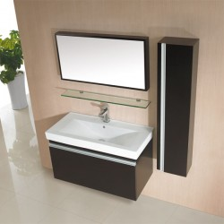 Ensemble de meuble de salle de bain simple vasque SD700W