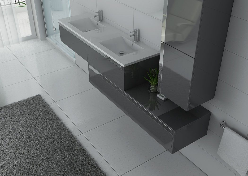 meuble double vasque ref bellissimo gt. Black Bedroom Furniture Sets. Home Design Ideas