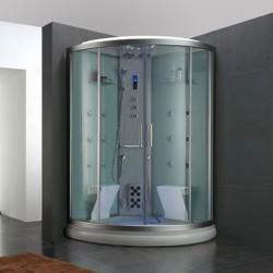 Nos cabines de douches massantes vous feront passer un agr able moment de d t - Cabine hammam 2 personnes ...