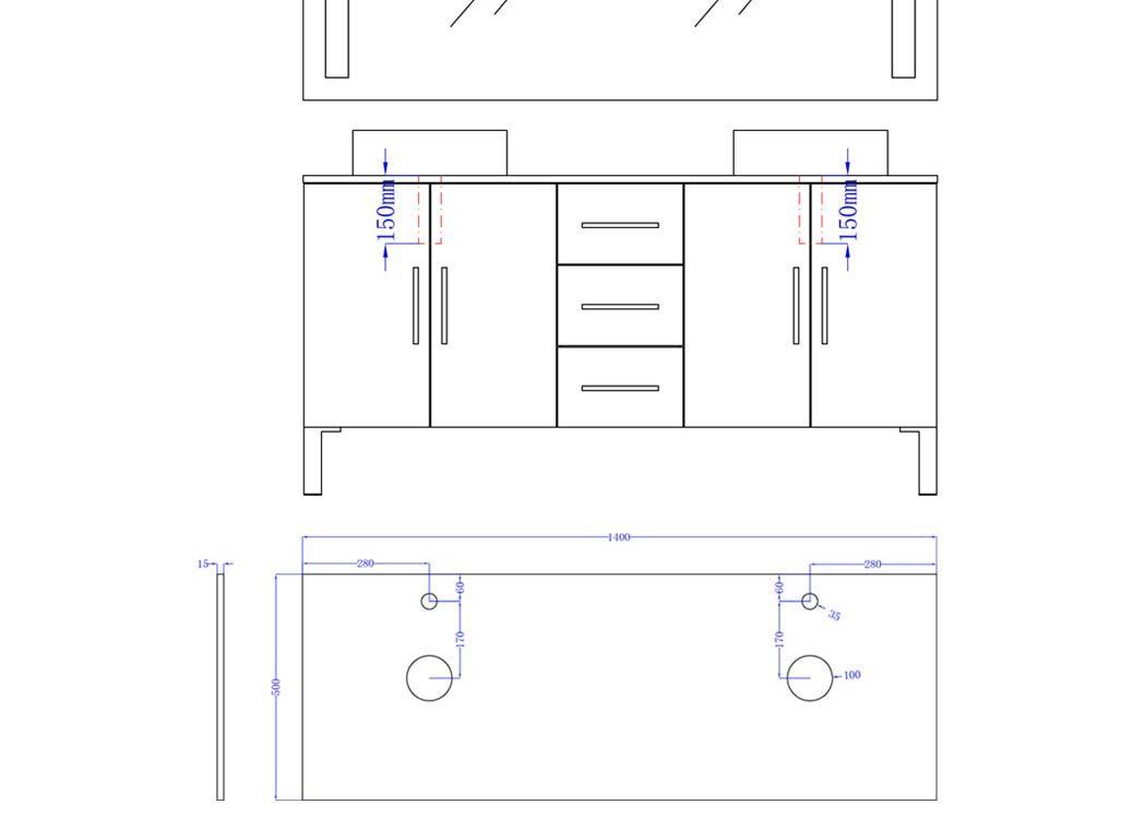 Meuble de salle de bain gris taupe ref dis989gt meuble for Ensemble meuble salle de bain double vasque colonne