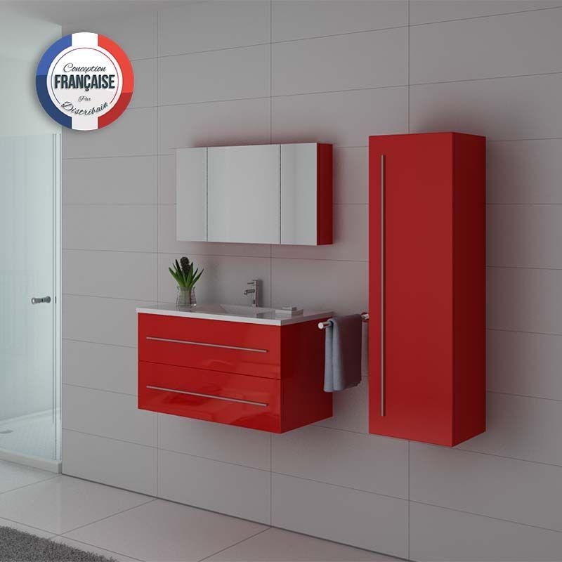Meubles salle de bain NOVA CO Coquelicot
