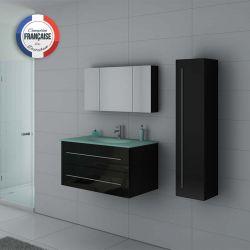 Meubles salle de bain DIS983N noir