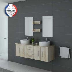 Meuble salle de bain Scandinave très tendance DIS747SC