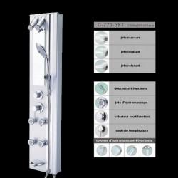 Colonne de douche avec jets de massage G-773-381