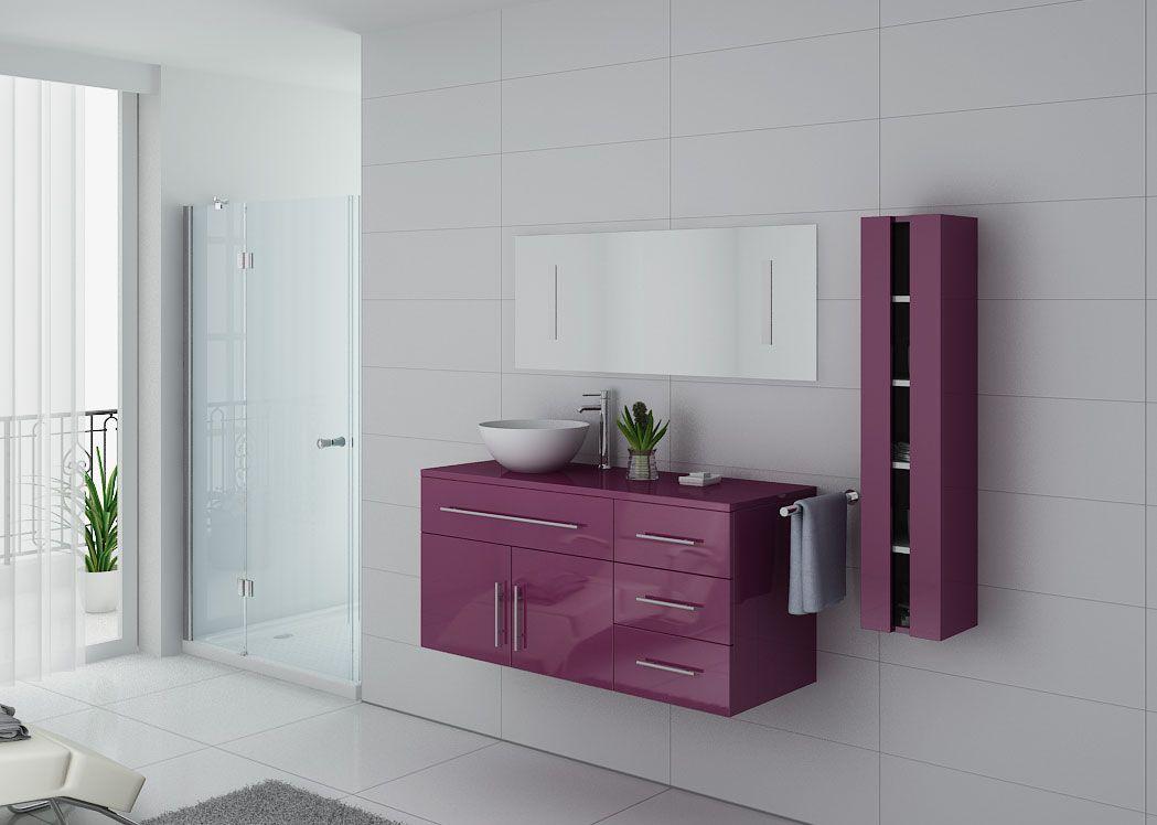 Meuble salle de bain ref arezzo au for Meuble de salle de bain online