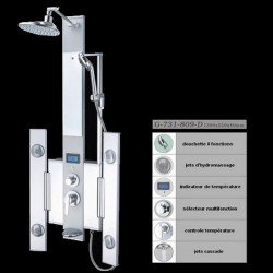 Colonne de massage moderne pour salle de bain G-731-809-D