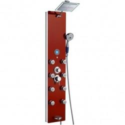Colonne de douche rouge massante G-878-392-R