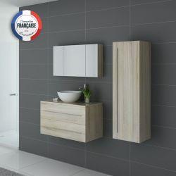 Meubles salle de bain simple vasque CONSENZA SC Scandinave