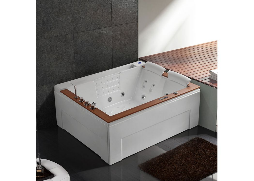 baignoire baln o droite d makatea baignoire baln o droite 190x160. Black Bedroom Furniture Sets. Home Design Ideas