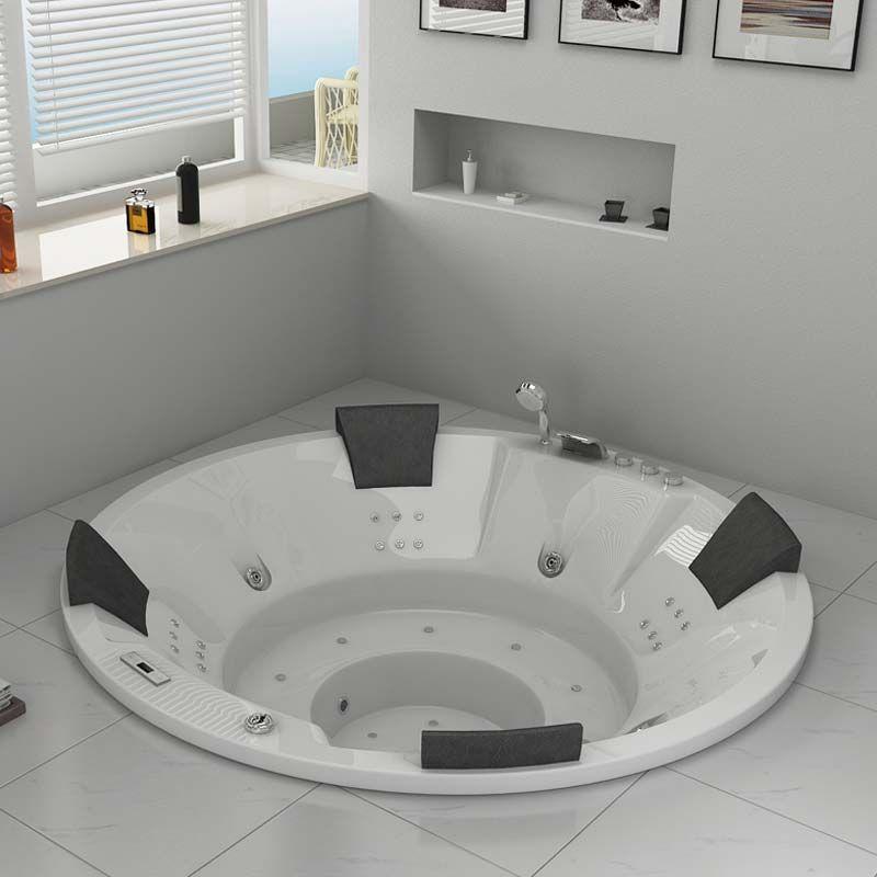 baignoire baln o ronde encastrable family 44 jets. Black Bedroom Furniture Sets. Home Design Ideas