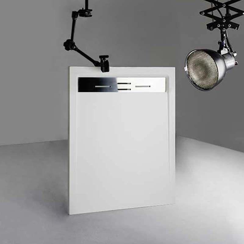 Receveur en gel coat CANTO Blanc 120x90