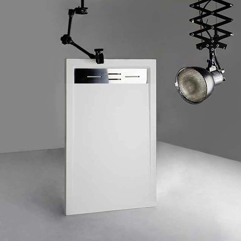 Receveur en gel coat CANTO Blanc 140 x 80 cm