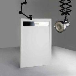 Receveur de douche extra plat Blanc 140 x 90cm