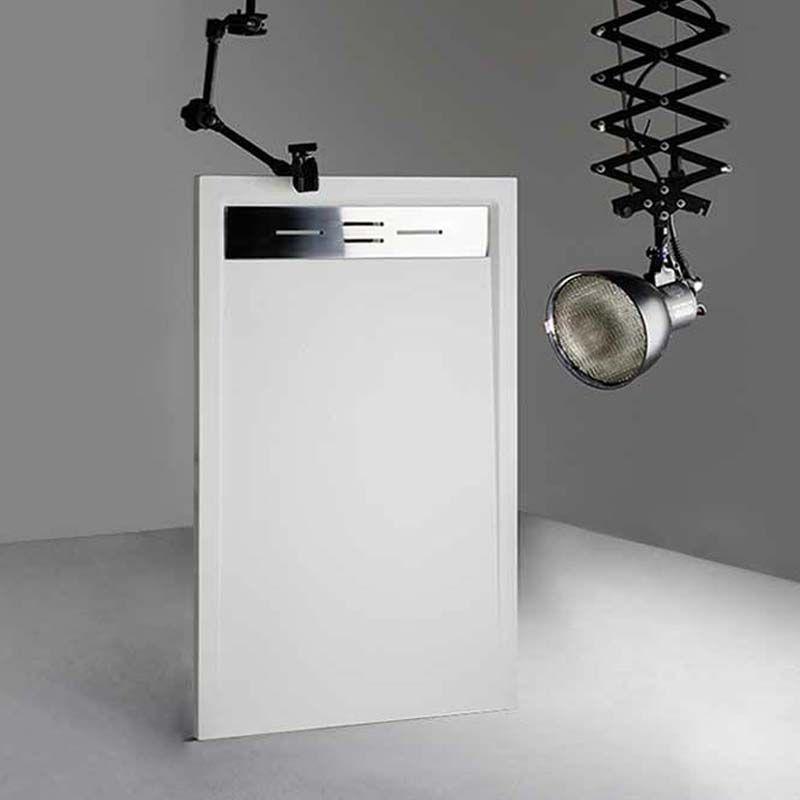 Receveur en gel coat CANTO Blanc 160x90cm