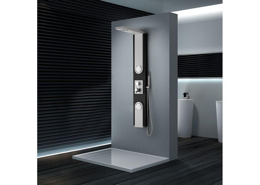 colonne d 39 hydromassage a053 colonne de douche design avec. Black Bedroom Furniture Sets. Home Design Ideas