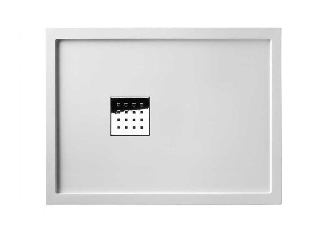 receveur de douche avec rebords liso enmarcado 120x90 cm blanc. Black Bedroom Furniture Sets. Home Design Ideas