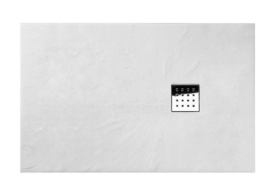 receveur de douche rectangulaire 140x90 pizarra receveur 140x90 blanc salledebain online. Black Bedroom Furniture Sets. Home Design Ideas