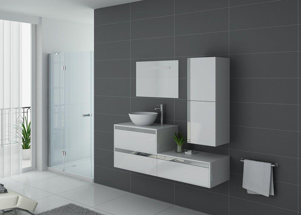 Meubles de salle de bain 1 vasque bol ensemble simple - Ensemble robinetterie salle de bain ...
