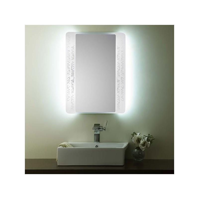 Miroir sdyj 1988f for Miroir salle de bain avec eclairage integre
