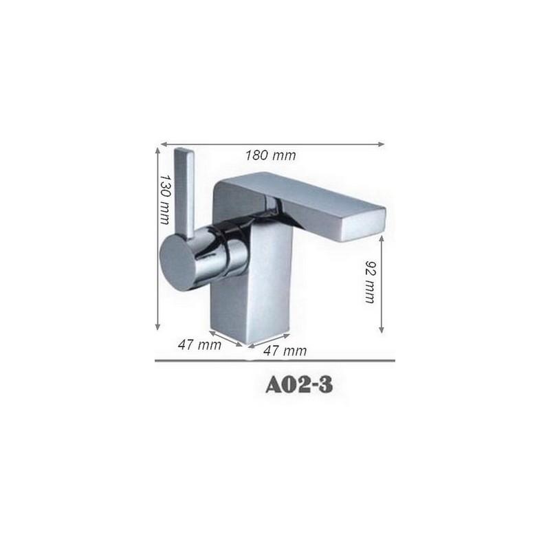 Mitigeur moderne salle de bain SDA02-3