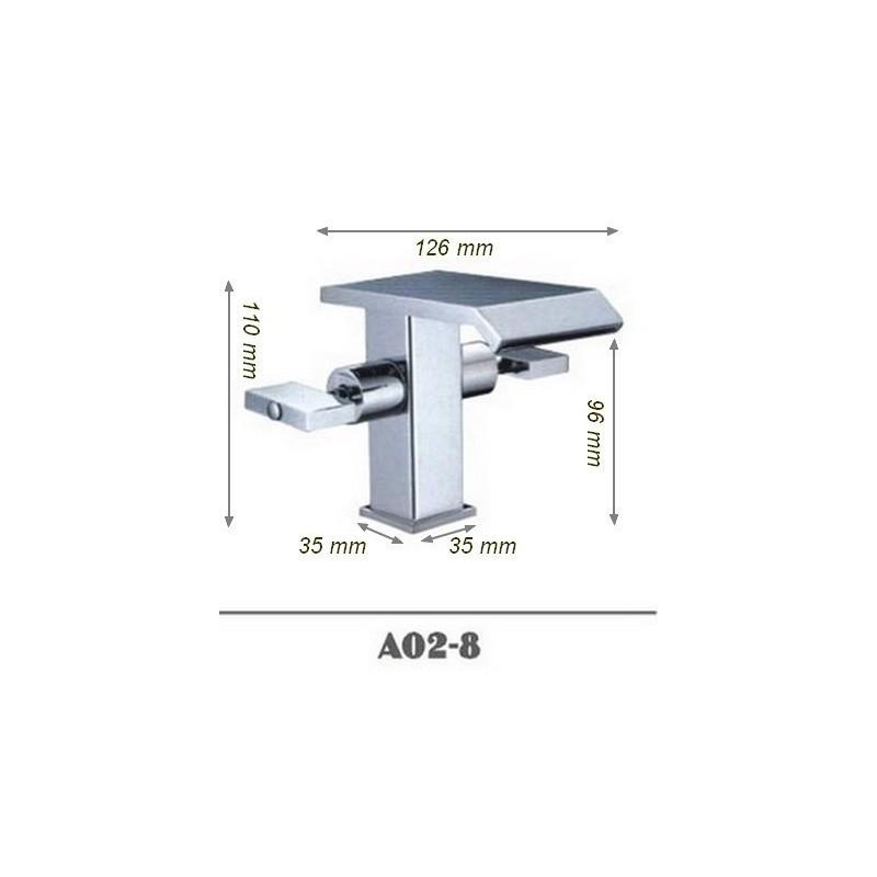 Robientterie salle de bain moderne SDA02-8