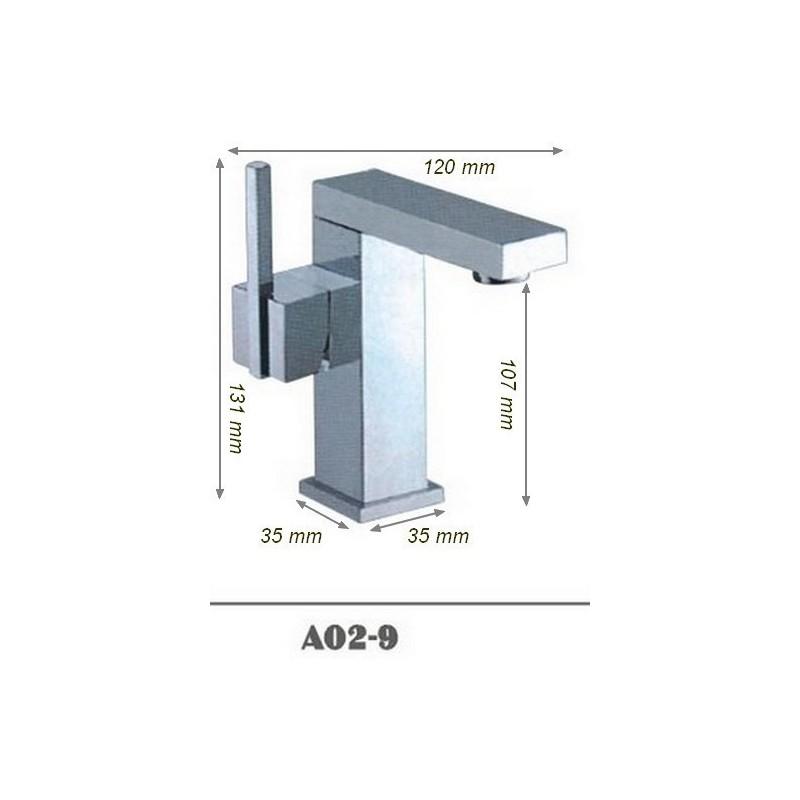 Robinet mitigeur salle de bain SDA02-9