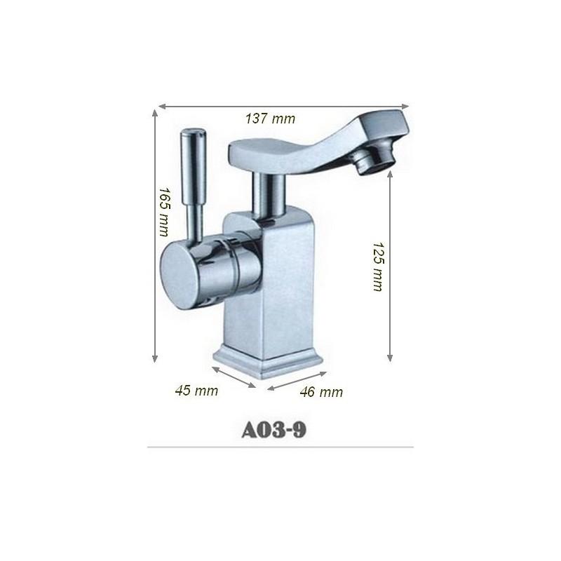 Robinetterie salle de bain atypique SDA03-9