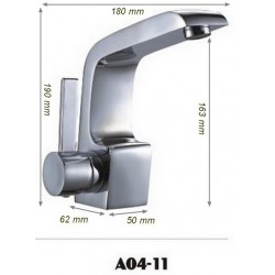 obinetterie mitigeur moderne pour vasque SD04-11