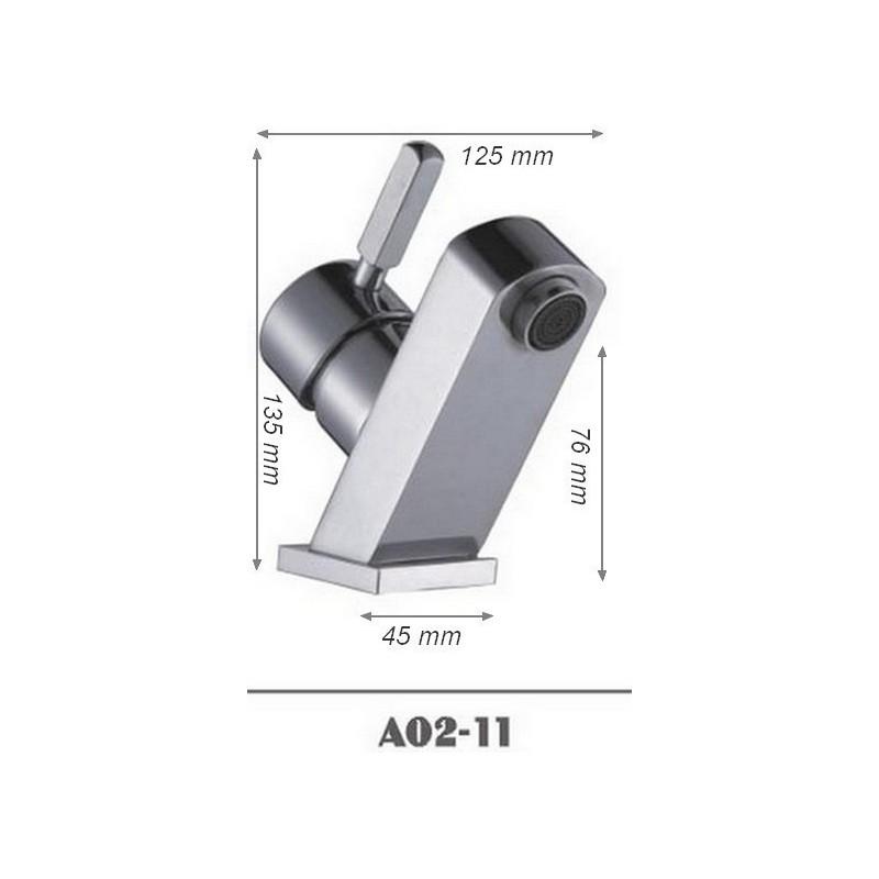 Robinetterie mitigeur salle de bain original SDA02-11