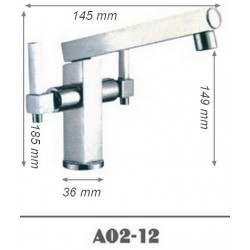 Robinet orientable pour lavabo SDA02-12