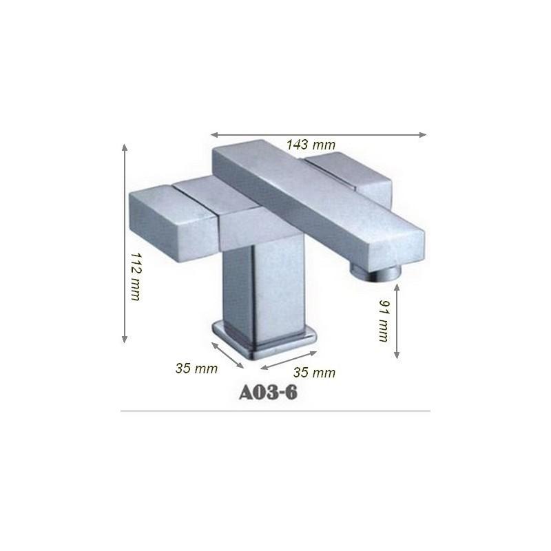 Robinet design atypique sanitaires SDA03-6