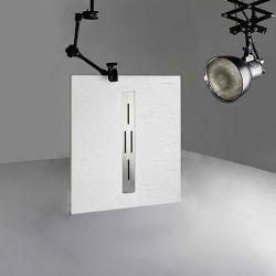 Receveur de douche en gel coat ARDESIA Blanc 100x80 cm
