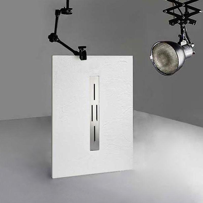 Receveur de douche blanc ARDESIA 120x80 cm
