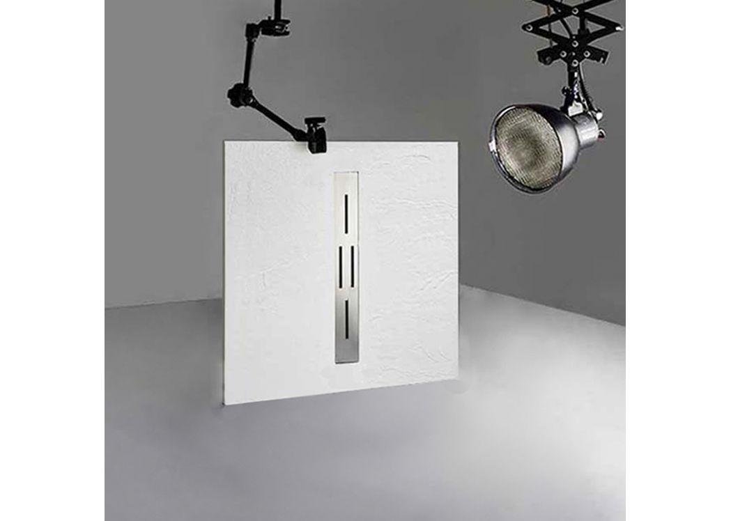 receveur de douche rectangulaire en gel coat ardesia blanc 100x90cm. Black Bedroom Furniture Sets. Home Design Ideas