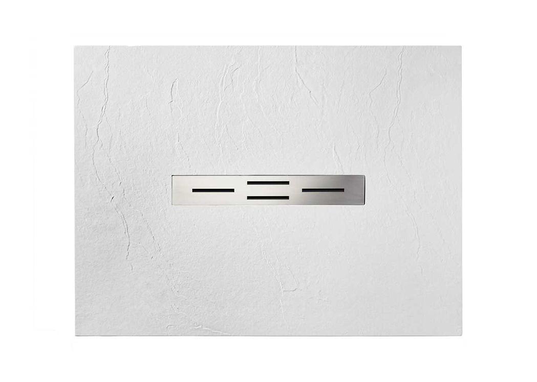 receveur de douche rectangulaire en gel coat ardesia blanc 120x90cm. Black Bedroom Furniture Sets. Home Design Ideas