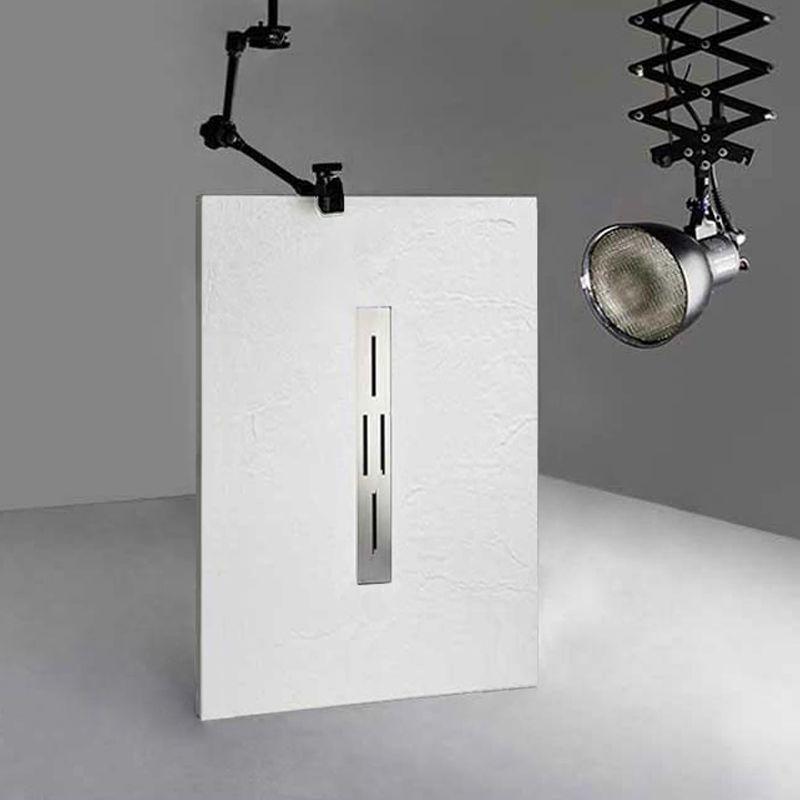 receveur de douche rectangulaire en gel coat ardesia blanc 140x90cm. Black Bedroom Furniture Sets. Home Design Ideas