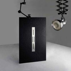 Receveur de douche extra plat ARDESIA Noir 140x80 cm