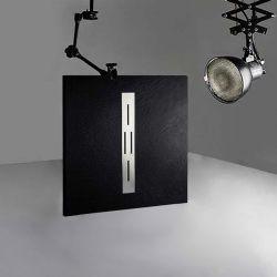 Receveur extra plat ARDESIA Noir 100x90 cm