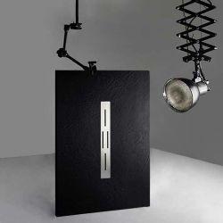 bac à douche design noir 140x90cm ARDESIA