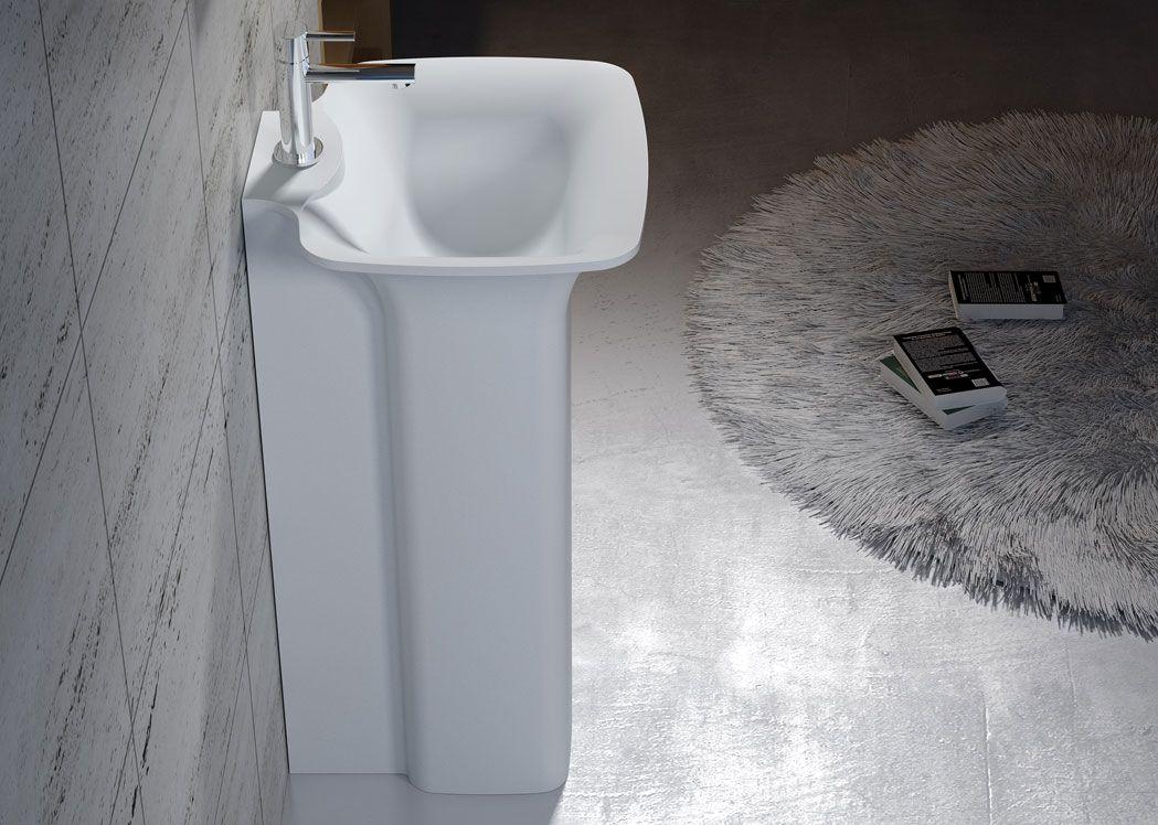vasque colonne sur pied Salledebain Online