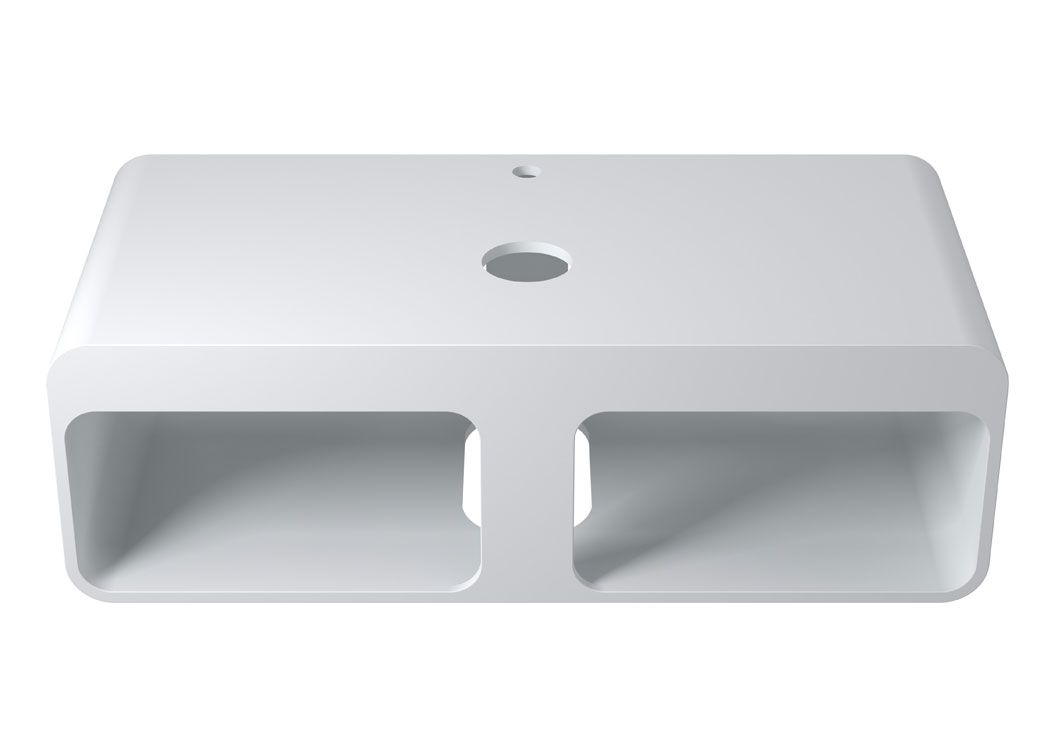 plan de toilette sdk52 vasque en rectangulaire sdv71. Black Bedroom Furniture Sets. Home Design Ideas