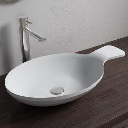 Vasque à poser cuillère très originale en solid surface SDV11