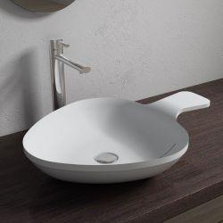 Vasque à poser design en solid surface SDV14